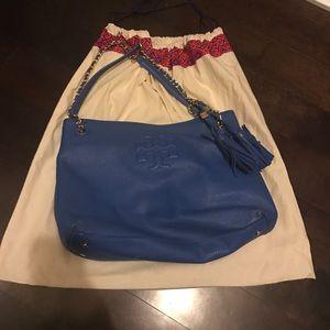 Tory Burch Royal Blue purse