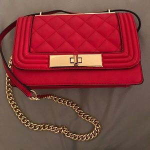 Derogali red aldo handbag