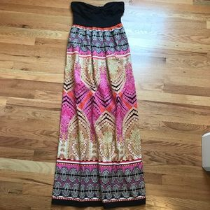 Anthropologie strapless Maxi Dress - Brand New!