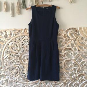 Madewell Navy Verse Dress