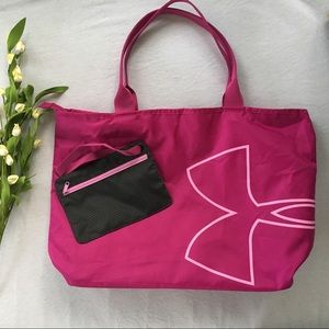 Under Armour Large Logo Tote with Pouch