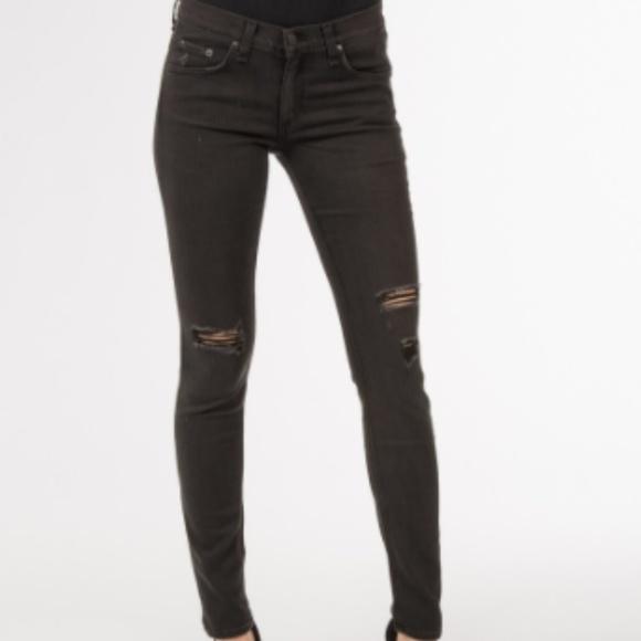 7538c7d20697 rag & bone Jeans | Rag Bone The Skinny Jean Soft Rock W Holes | Poshmark