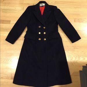 Stunning Vintage wool military-style coat