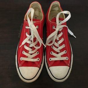 Converse- Converse(red) Red Classic Sneaker M6/WM8