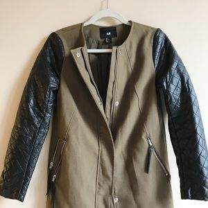 H&M Leather Winter Jacket