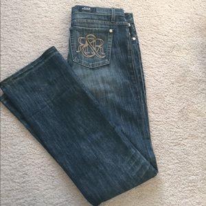 Rock & Republic Women's Kiedis Bootcut Jeans Sz 31