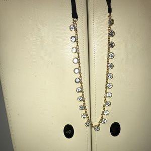 J. Crew ribbon necklace