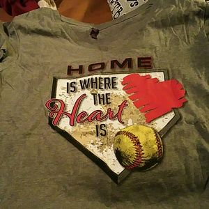 Tops - Women's softball shirt