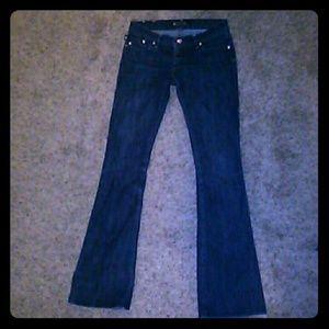 Rock abd republic boot cut slim fit jeans