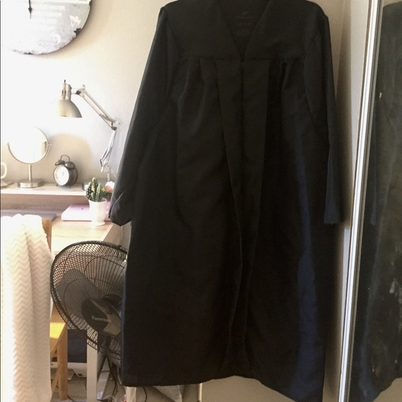 Other | Black College Graduation Gown Wcap | Poshmark