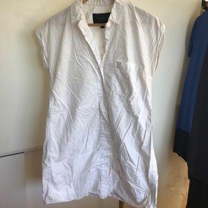 J Crew collared popover dress