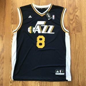 Adidas Utah Jazz #8 Deron Williams Jersey