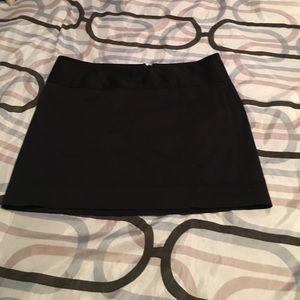 Black express mini skirt size 2