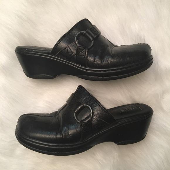 871bd1e41842 Born Shoes - Boc Born Concept Slip On Clogs Mules Leather
