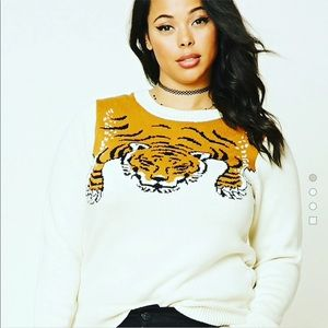 Forever XXI Tiger Sweater