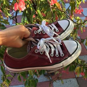 Converse Chuck Taylor All Star Low Top - Burgundy