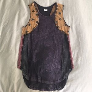 (NEW) FREE PEOPLE - Cotton star tank
