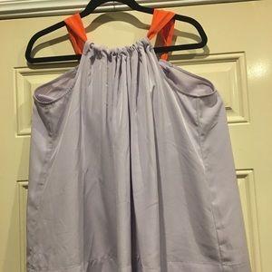 H&M Sleeveless Lavender Blouse