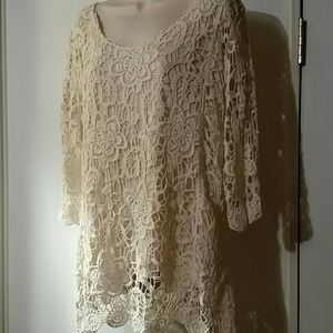 C&B crochet tunic