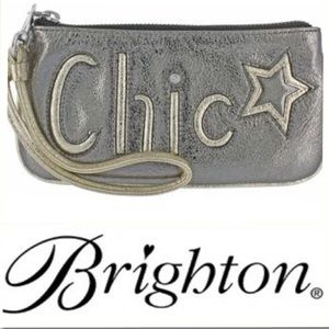 NWT🦋Brighton🦋Cosmetics Leather Chic Bag E9533R