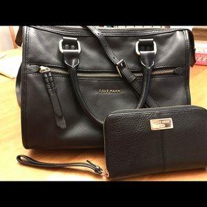 Authentic Cole Haan satchel