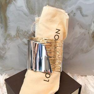 Louis Vuitton My Epi Two Tone Cuff Bracelet