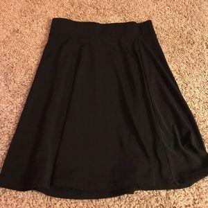 Black skater skirt-Very stretchy
