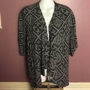 Forever 21 Grey Kimono Cardigan