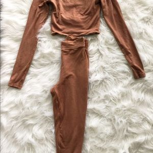 OhPolly.com Other - Mocha Two Piece Set