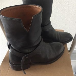 Madewell black boots Size 5