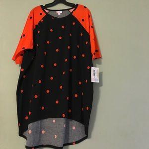 LuLaRoe polka dots Halloween Irma size Large