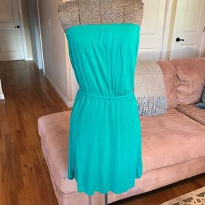 SMALL TEAL OLD NAVY DRESS