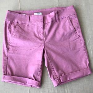 LOFT Petite Bermuda Shorts