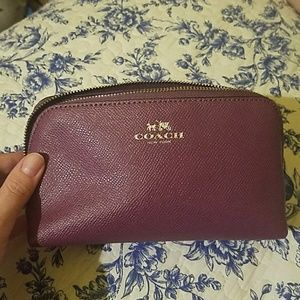 NWOT Coach cosmetic bag