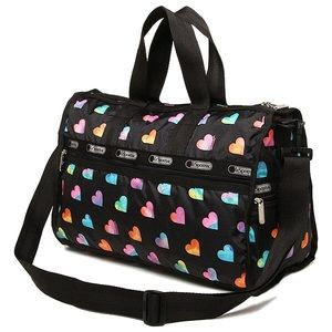 LeSportsac Medium Weekender Travel Bag Duffel