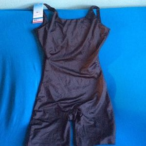 SPANX open bust mid thigh body shaper size XL
