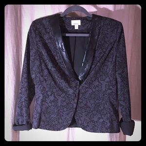 Ambar bird patterned blazer