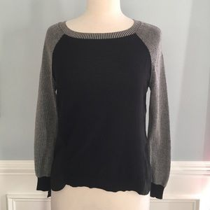 SHAE Knit Top With Semi Sheer Back- Size XS/TP