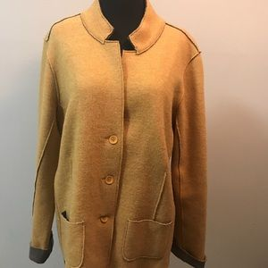 🌻EILEEN FISHER merino wool  jacket coat🌻