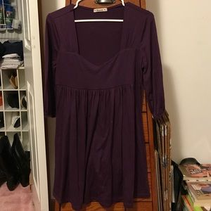 Tie Back Babydoll Dress - EUC