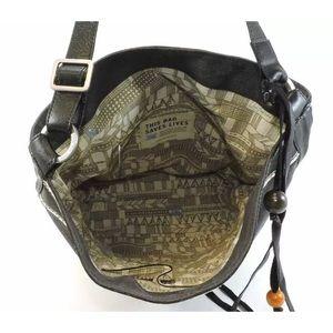 NWT Rare Tom's Wanderer Woven Bucket Bag