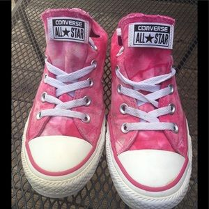 PINK & WHITE💗CONVERSE SNEAKERS SIZE 6