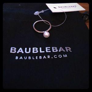 Big pearl rose gold ring *free gift*