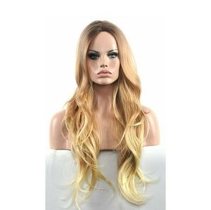 Ombre Blonde Beauty Highlights Wig