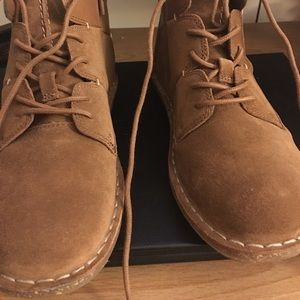 clarks leather /suede boots 6.5 NWT