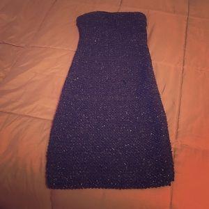 Black sparkly strapless Forever 21 Dress