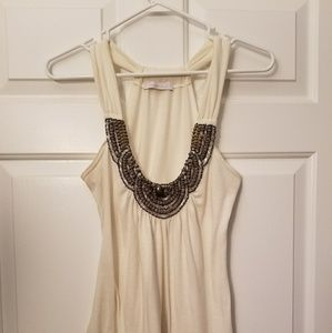 Charlotte Russe beaded tank