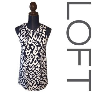 LOFT 00P shift dress