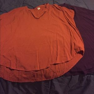 Old Navy short sleeved cocoon tops