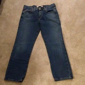 Levis 505 straight leg jeans, short